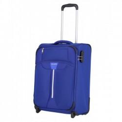 Mažas medžiaginis lagaminas Travelite Speedline M-2w Mėlynas