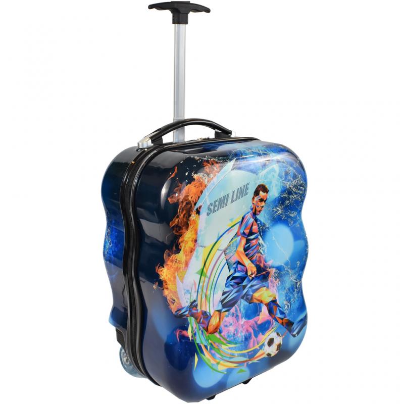 Vaikiškas plastikinis lagaminas Semiline 5463-5
