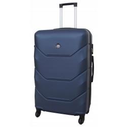 Vidutinis plastikinis lagaminas Gravitt 950-V Tamsiai mėlynas