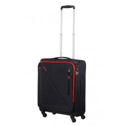 Mažas lagaminas American Tourister Lite Volt M-4W Juodas (Black-red)