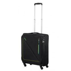 Mažas lagaminas American Tourister Lite Volt M-4W Juodas (Brazil)