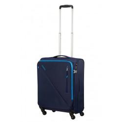 Mažas lagaminas American Tourister Lite Volt M-4W Mėlynas (Navy-blue)
