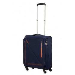 Mažas lagaminas American Tourister Lite Volt M-4W Mėlynas (Sunset)