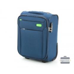 Mažas medžiaginis Wizzair lagaminas VIP Travel V25-3S-220-LMW Mėlynas