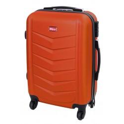 Mažas plastikinis lagaminas Gravitt 602-M Oranžinis