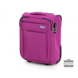 Mažas medžiaginis Wizzair lagaminas VIP Travel V25-3S-220-LMW Vyšninė spalva