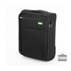 Mažas medžiaginis lagaminas VIP Travel V25-3S-221-M Juodas