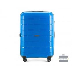 Vidutinis plastikinis lagaminas Wittchen 56-3T-722 Mėlynas