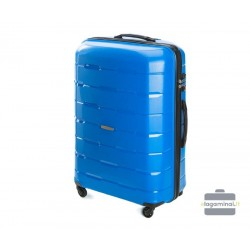 Didelis plastikinis lagaminas Wittchen 56-3T-723-D Mėlynas