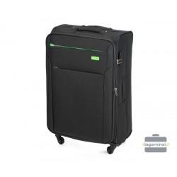 Didelis medžiaginis lagaminas Vip Travel V25-3S-223 Juodas
