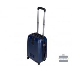 Mažas plastikinis lagaminas Szyk 168-M Mėlynas