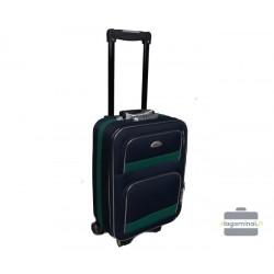 Mažas medžiaginis lagaminas Deli 901-M Tamsiai mėlynas/žalias