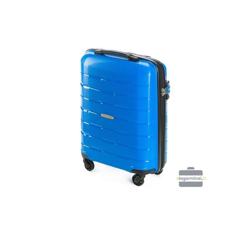 Mažas plastikinis lagaminas Wittchen 56-3T-721 Mėlynas