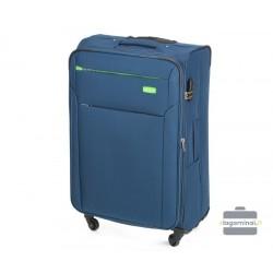 Didelis medžiaginis lagaminas Vip Travel V25-3S-223 Mėlynas