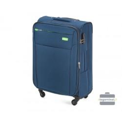 Vidutinis medžiaginis Lagaminas Vip Travel V25-3S-222-V Mėlynas