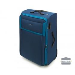 Didelis medžiaginis lagaminas Vip Travel V25-3S-233 Mėlynas