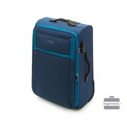 Vidutinis medžiaginis lagaminas Vip Travel V25-3S-232 Mėlynas