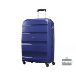 Didelis plastikinis lagaminas American Tourister Bon Air D Mėlynas