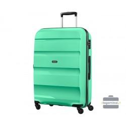 Didelis plastikinis lagaminas American Tourister Bon Air D Žalias