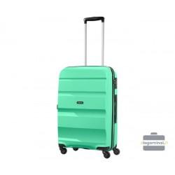 Vidutinis plastikinis lagaminas American Tourister Bon Air V Žalias