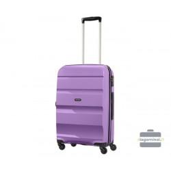 Didelis plastikinis lagaminas American Tourister Bon Air D Violetinis