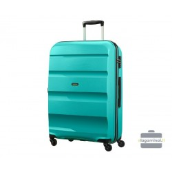Didelis plastikinis lagaminas American Tourister Bon Air D Turkio spalva