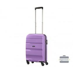 Mažas plastikinis lagaminas American Tourister Bon Air M Violetinis