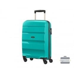 Mažas plastikinis lagaminas American Tourister Bon Air M Turkio spalva