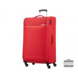 Didelis medžiaginis lagaminas American Tourister Funshine D Raudonas
