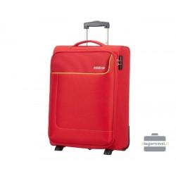 Mažas medžiaginis lagaminas American Tourister Funshine M Raudonas