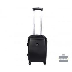 Mažas plastikinis lagaminas Gravitt 866-M Juodas