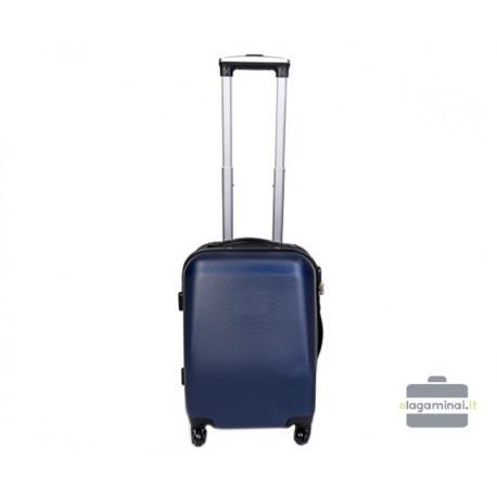 Mažas plastikinis lagaminas Szyk 866-M Mėlynas