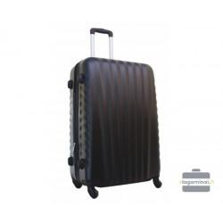 Vidutinis plastikinis lagaminas Gravitt 888-V Tamsiai pilkas