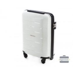 Mažas plastikinis lagaminas Wittchen 56-3T-721 Baltas