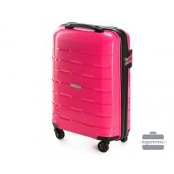 Mažas plastikinis lagaminas Wittchen 56-3T-721 Raudonas