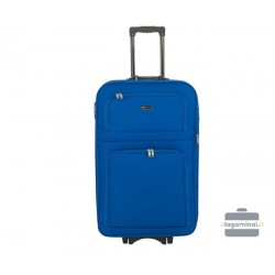 Didelis medžiaginis lagaminas Bagia Budapest-D Mėlynas