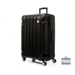 Didelis plastikinis lagaminas Swissbags Tourist II-D Juodas
