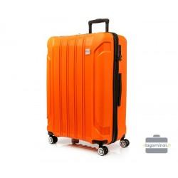 Didelis plastikinis lagaminas Swissbags Tourist II-D Mėlynas