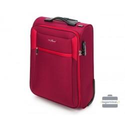Mažas medžiaginis lagaminas Vip Travel V25-3S-231 Tamsiai mėlynas/pilkas