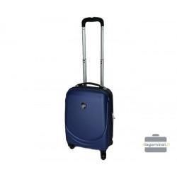 Mažas plastikinis lagaminas Larsen L2-M Tamsiai mėlynas