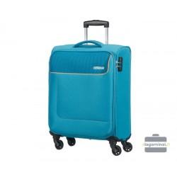 Mažas lagaminas American Tourister Funshine M Mėlynas