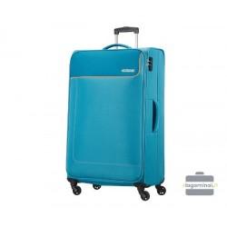 Didelis lagaminas American Tourister Funshine D Šviesiai mėlynas