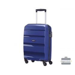 Mažas plastikinis lagaminas American Tourister Bon Air M Žalias