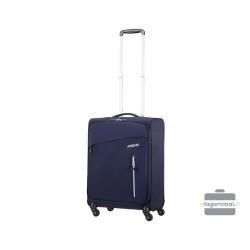 Mažas lagaminas American Tourister Litewing M Tamsiai mėlynas