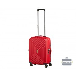 Mažas lagaminas American Tourister Air Force 1 M Raudonas