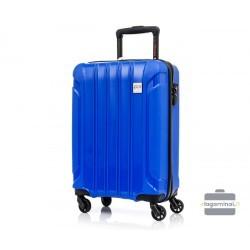 Mažas plastikinis lagaminas Swissbags Tourist M Mėlynas