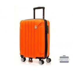 Mažas plastikinis lagaminas Swissbags Tourist II M Oranžinis