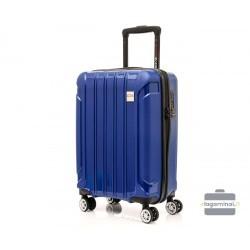Mažas plastikinis lagaminas Swissbags Tourist II M Tamsiai mėlynas