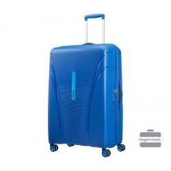 Labai didelis plastikinis lagaminas American Tourister Skytracer LD Mėlynas