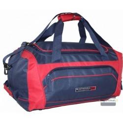Kelioninis krepšys Borderline SB808 Tamsiai mėlynas/raudonas